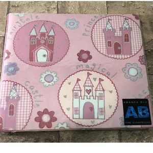 Amanda Blu Princess Castle Scrapbook Album Castle